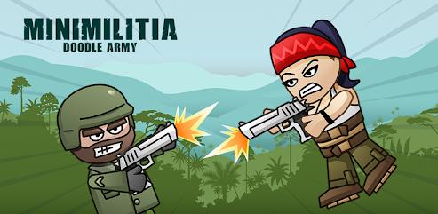 دانلود برنامه Mini Militia - Doodle Army 2